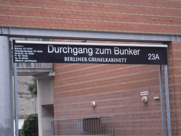 Gruselkabinett - ingång