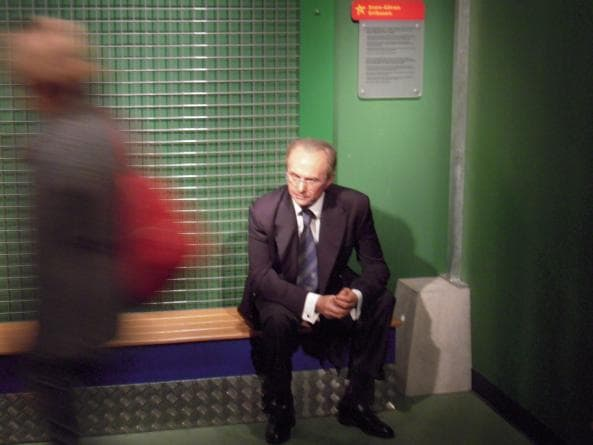 Svennis på Madame Tussauds i Berlin