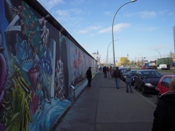 Bevarad del av Berlinmuren