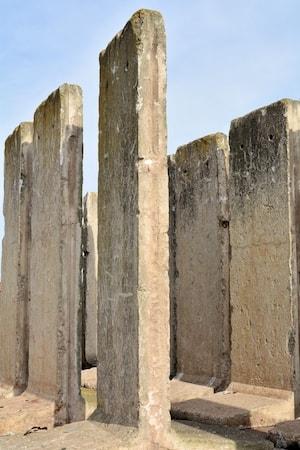 Rester av Berlinmuren i Berlin