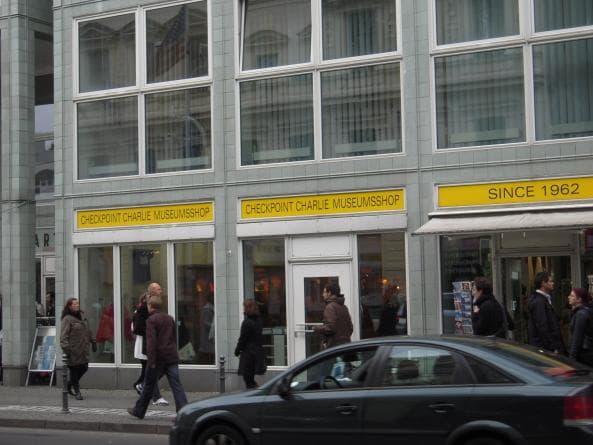 Museum nära Checkpoint Charlie
