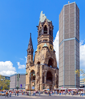 Kaiser Wilhelm Memorial Church i Berlin