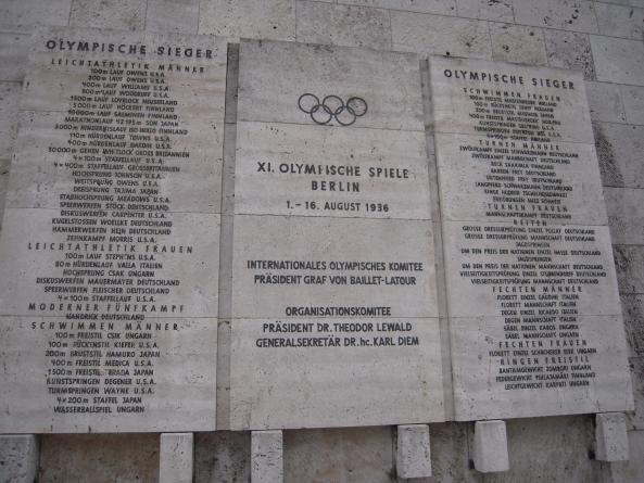 Olympiska spelen i Berlin 1936