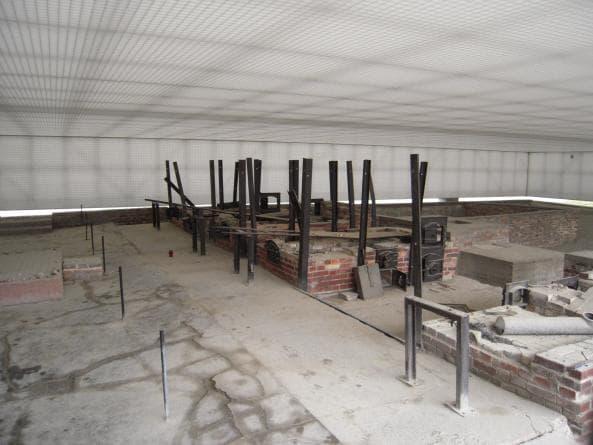 Kremeringsugnar vid Sachsenhausen