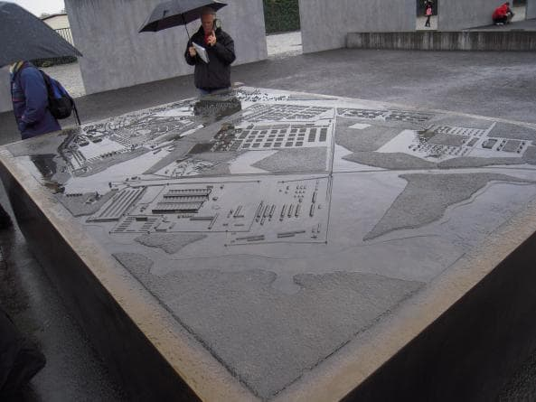 Sachsenhausens uppbyggnad