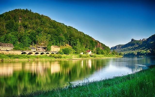 Floden Elbe