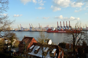 Bild på Port of Hamburg i Hamburg