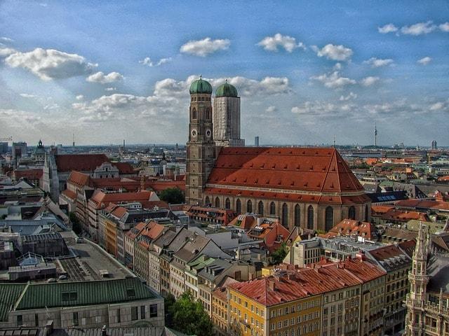 Bild på vackra München
