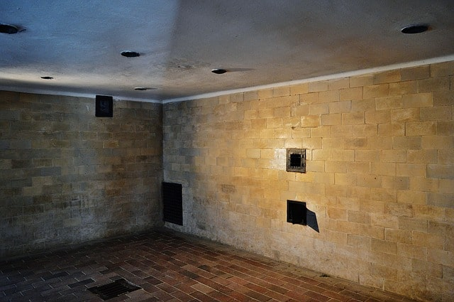 Gaskammare i koncentrationslägret Dachau