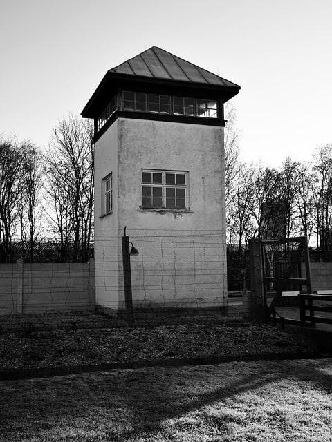 Vakttorn i Dachau